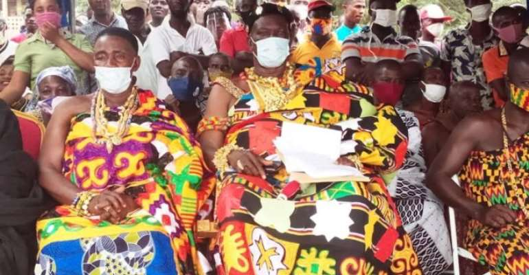 C/R: We're Now Comfortable, We'll Make Sure You're Re-elected For Fulfilling All Your Promises To Us – Two Paramount Chiefs To Akufo-Addo