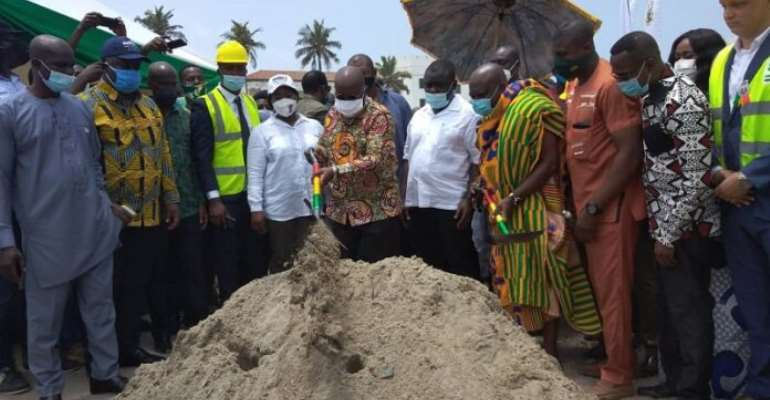 Re-Elect Me For My Good Work – Akufo Addo To Elmina Residents