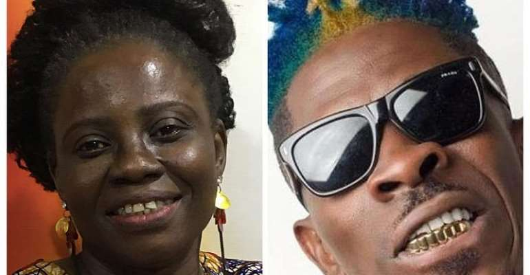 I want to collaborate with Shatta Wale - Legendary Hannah Marfo