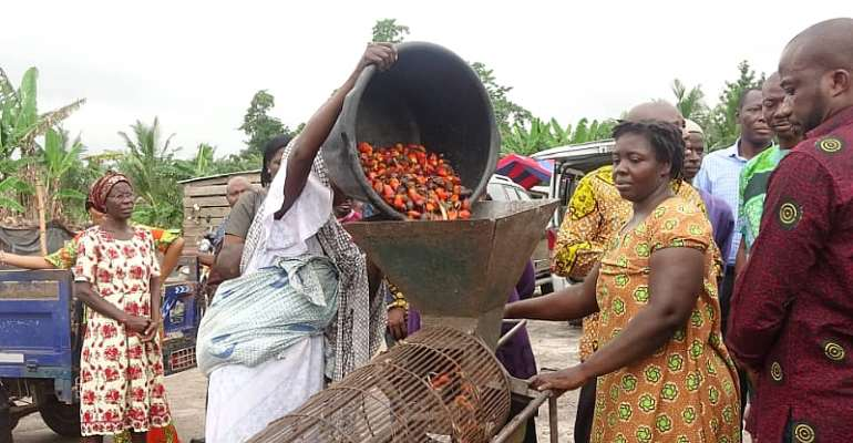 Ghana Imports $40m Of Palm Oil Annually