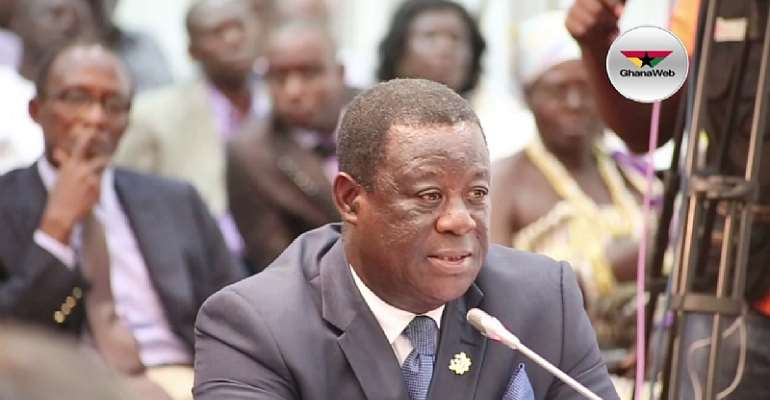 MP Drags Road Minister To Parliament Over Sofoline-Abuakwa Road