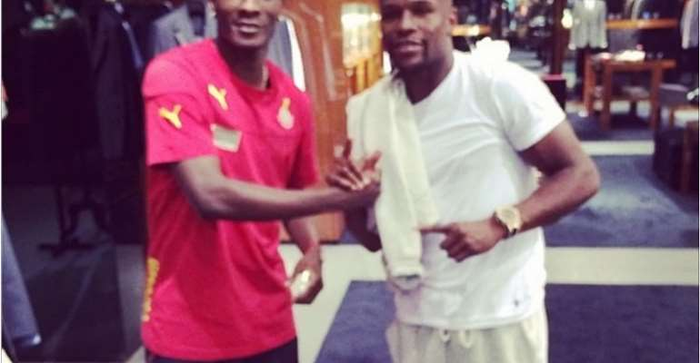 I Could Have Been Knocked Down By A Car Because I Wanted To Take A Picture With Mayweather, Gyan