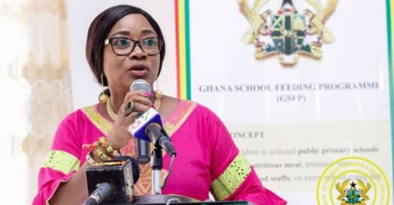 The Minister of Gender, Children and Social Protection (MGCSP), Mrs. Cynthia Mamle Morrison