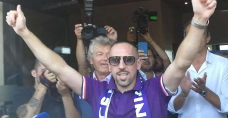 Bayern Munich Legend Ribery Joins Fiorentina