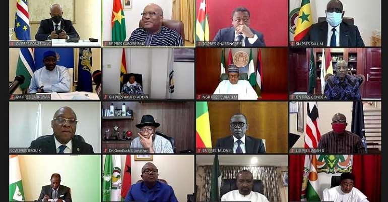 ©  ECOWAS/Handout via REUTERS
