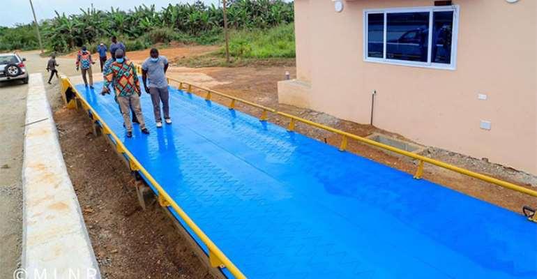 W/R: Gov't Constructs Weigh Bridge For Bauxite, Manganese At Apemanim