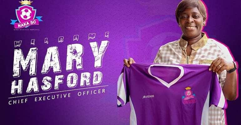 Nana Afia Kobi Ampem Ladies Appoint Mary Hasford As New CEO