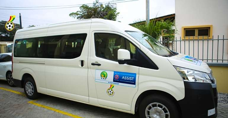 GFA Secures Grassroots Coaching Mini Van Through UEFA Assist Program