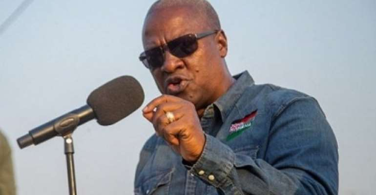 Gov't Failed Infrastructure Test – Mahama