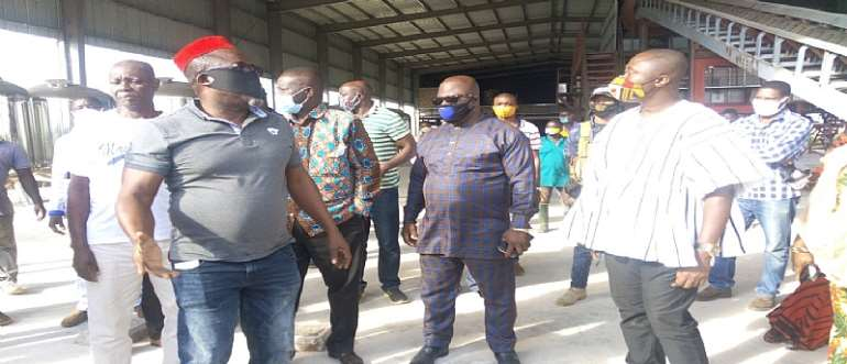 1D1F: Amantin Agro-processing Company 92% Complete – Minister