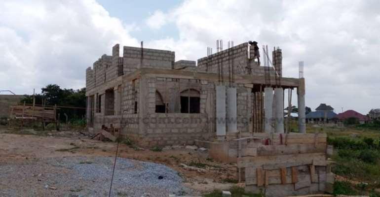 Work Progressing On Kufuor's Estate In Kumasi