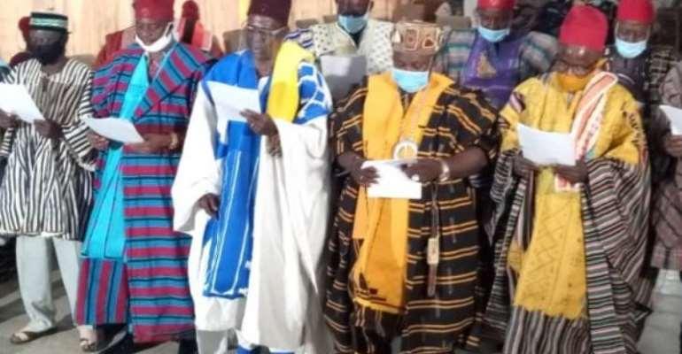 Upper East Regional House Of Chiefs Swears In 13 Chiefs