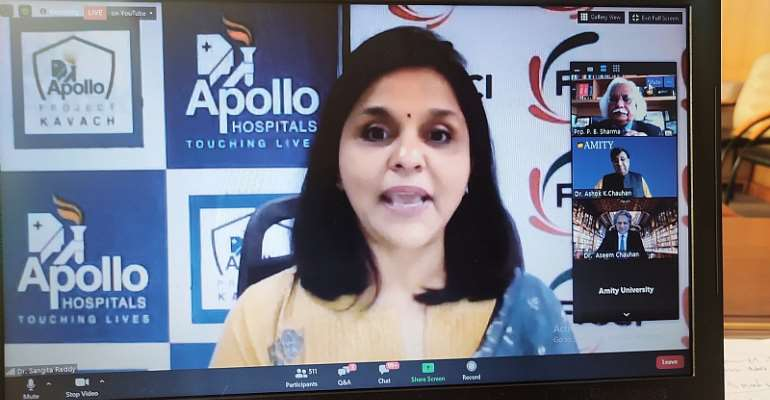 Nurture Positivity, Use Your Mind Wisely To Create A Healthy Environment Amid Covid-19 – Dr Sangeeta Reddy At Amity Eminent Webinar