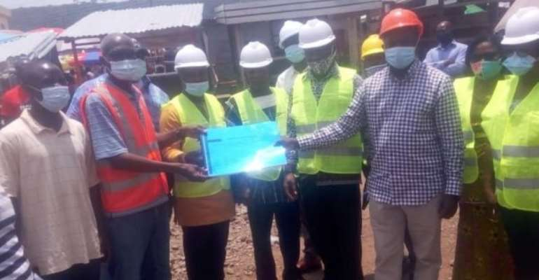 Ho Municipal Awards GH¢ 9.3 million Contract For Market Stores
