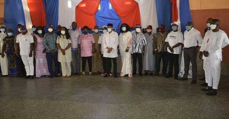 NPP Unveils Upper East Region Campaign Team