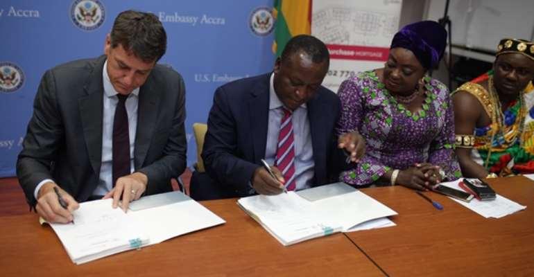Appolonia City, Ghana Home Loans sign new housing deal