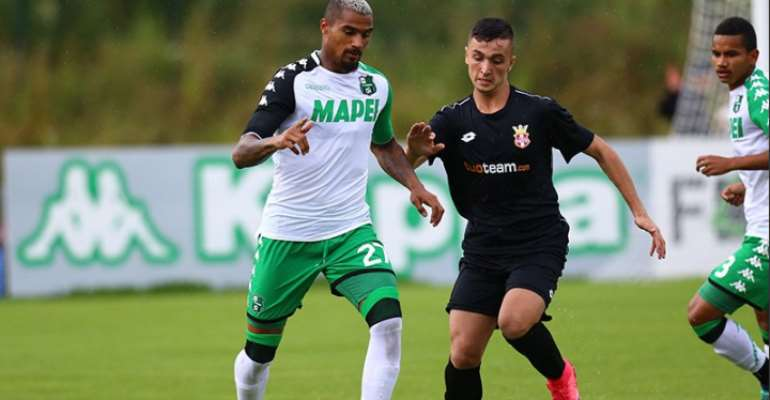 Kevin Prince Boateng Eyes Europe With Sassuolo
