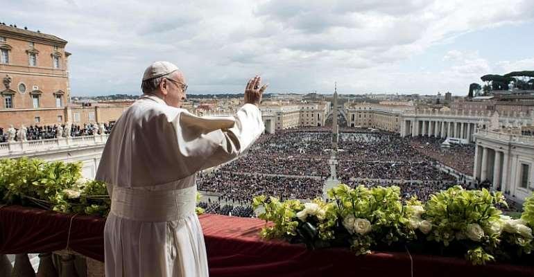 Osservatore Romano/Handout/Reuters