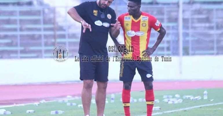 Ex-Kotoko Midfielder Kwame Bonsu Debuts in Esperance's 5-0 Win Over Al Nahda
