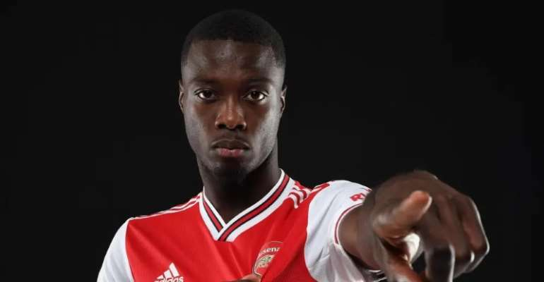 Nicolas Pepe Completes Move To Arsenal For Club-Record £72m