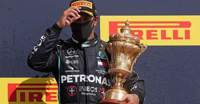 Lewis Hamilton Wins His Seventh British Grand Prix At Silverstone Despite Final-Lap Puncture