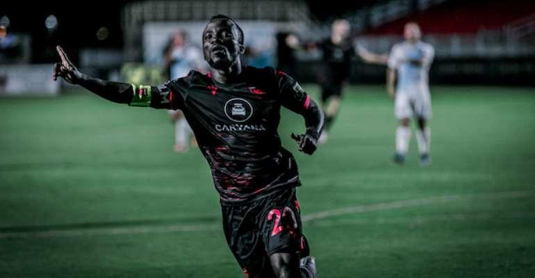 VIDEO: Watch Solomon Asante's Equalizer For Phoenix Rising FC Against El Paso Locomotive