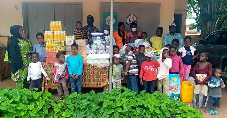 Aristocrat Charity Foundation donates to Tamale Children's Home