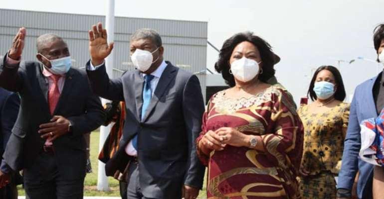 Angola President in Ghana for 3day visit