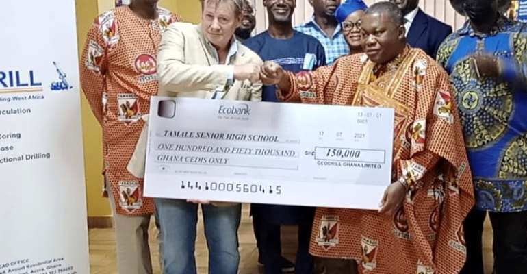 Geodrill supports Tamale SHS Science Lab Complex