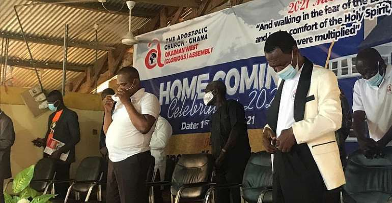 Apostolic Church Glorious Assembly holds 'Home Coming' service to raise funds for church building