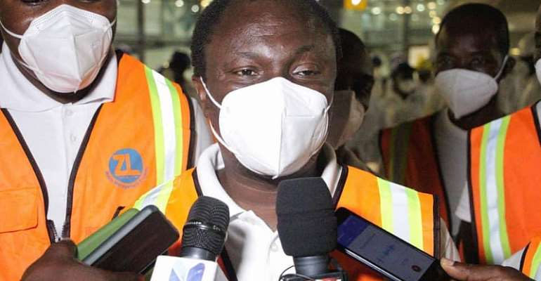 Covid-19 3rd wave calls for massive disinfection in public places — Zoomlion