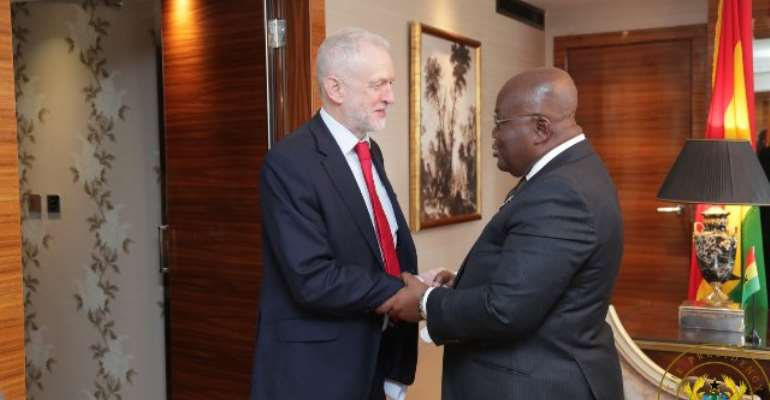 UK's Labour Party Jeremy Corbyn Cut Trip To Ghana