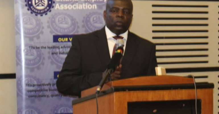 Chief Executive Officer of the Ghana Employers Association, Alex Frimpong