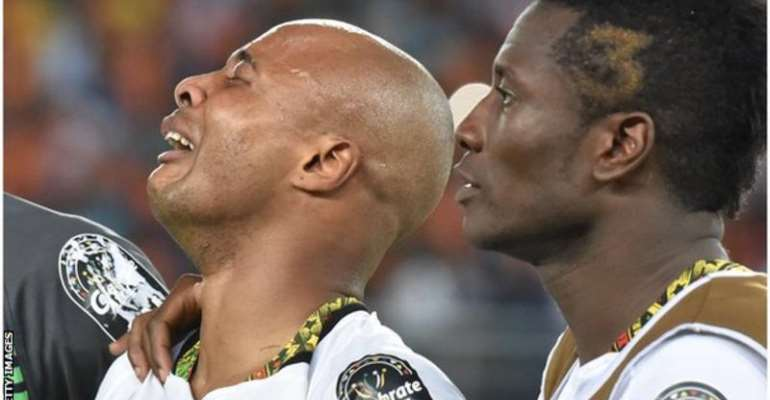 Black Stars Captain Dede Ayew Pays Tribute To Deceased Junior Agogo
