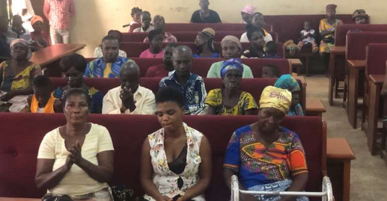 The disability association of Atwima Mponua