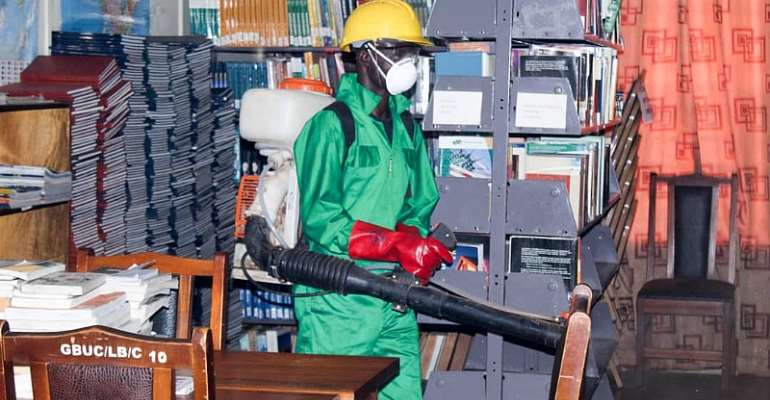 Tertiary InstitutionsIn Ashanti Region Undergo 2nd Disinfection