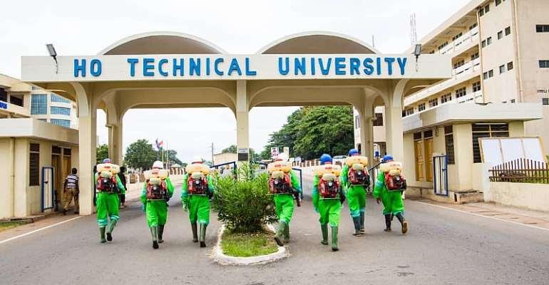 2nd PhaseOf Disinfection InTertiary InstitutionsIn Volta, Oti Regions Take Off
