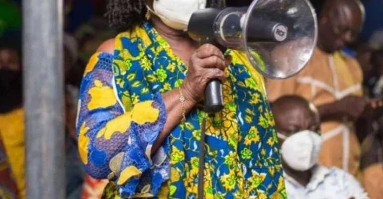 The Ghanaian Dream Will Be Achieved Under NDC - Jane Naana