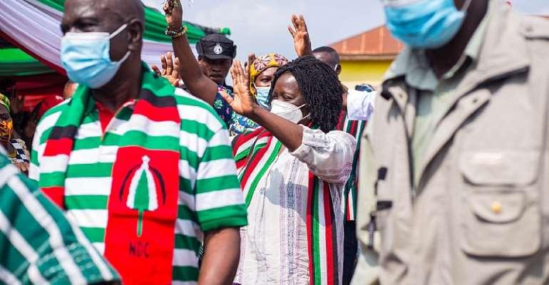 Chiraahene Endorses NDC Running Mate