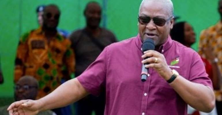 No Vigilante Forces On Election Day — Mahama