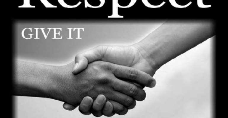 A Lack Of Self-Respect (4)