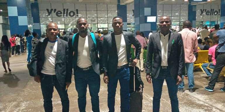 CAF Confed Cup: Match Officials Arrive For Second Leg Clash Between Ashgold and Akonagui FC