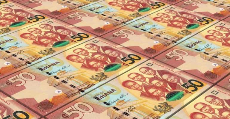 ¢153m Spent On Printing Cedi Notes In 2018