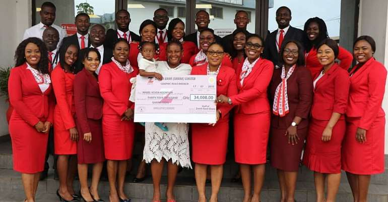 Two-Year-Old Heart Patient Mabel Adjoa Koomson Gets Support From Zenith Bank