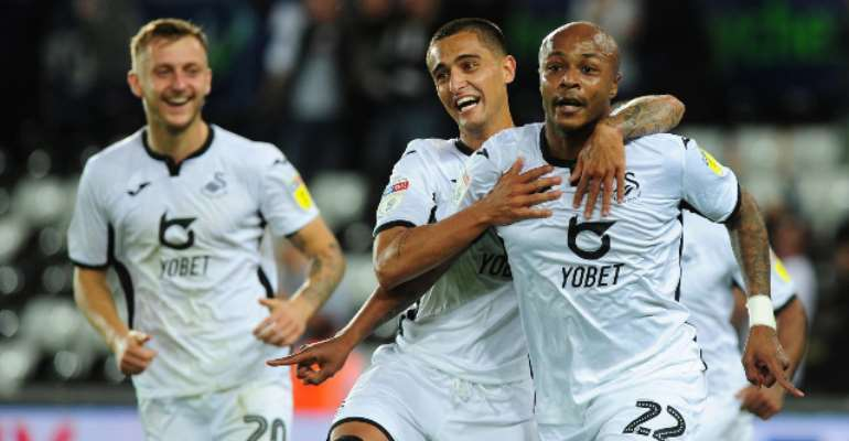 Swansea City Fans Implores Andre Ayew To Stay At The Club