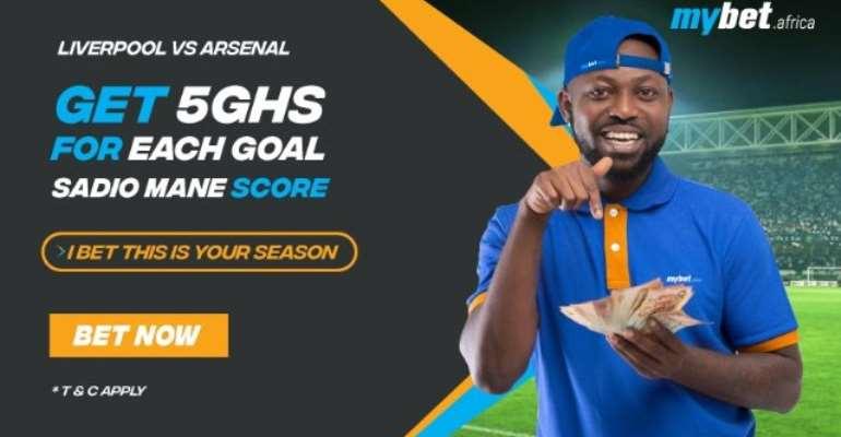 Sadio Mane To Score Against Arsenal – Mybet.africa