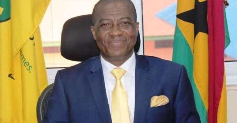 Kofi Osei Ameyaw, Director- General of the National Lotteries Authority