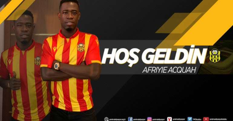 REVEALED: Afriyie Acquah To Pocket €1m Every season At Yeni Malatyaspor