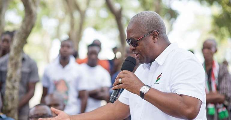 If I Become President, I'll Mandate Banks To List On Stock Exchange – Mahama