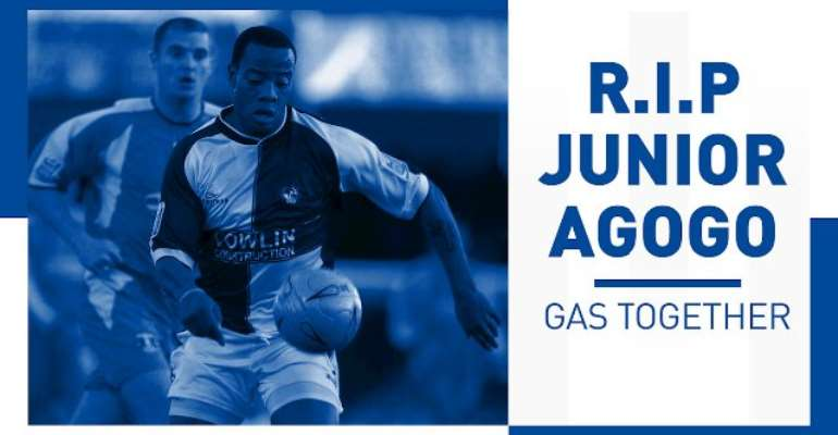 A Minute Applause To Be Observe By Bristol Rovers To Honor Former Striker Junior Agogo